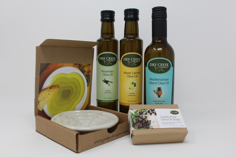Trattore Oil and Dipping Dish Trio