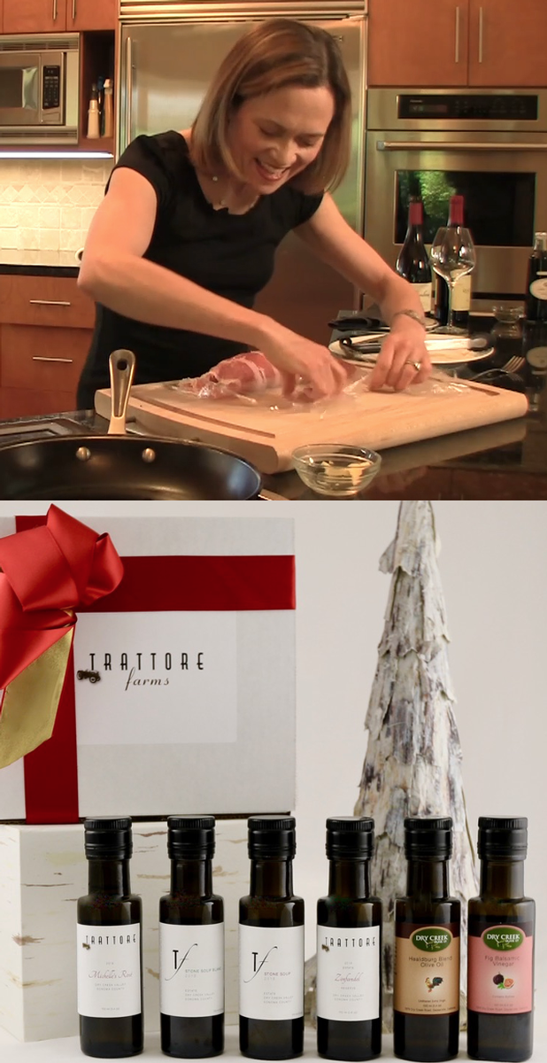 Home for the Holidays Sampler & Virtual Cooking/Wine Event